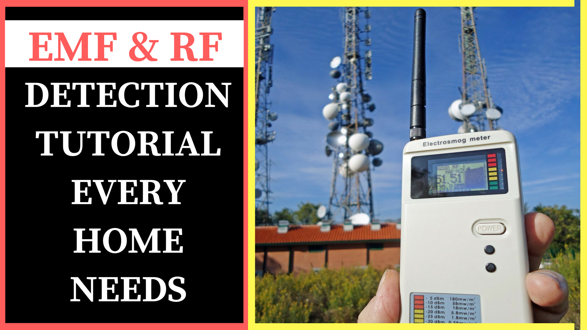 Step by Step EMF and RF Radiation Detection | The Ultimate EMF and RF Shielding and Protection That Every Home Needs – Part 1